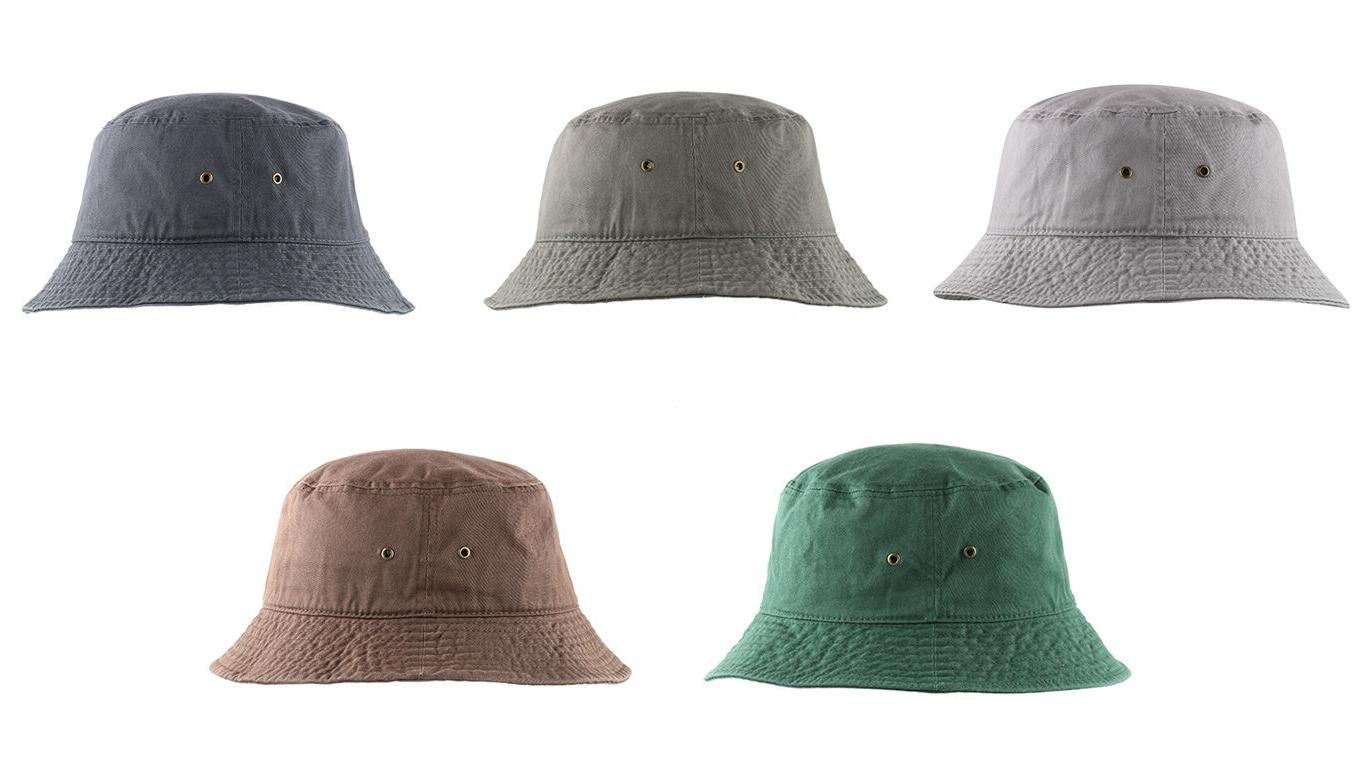 Newhattan Washed Cotton Bucket Cap New Tags