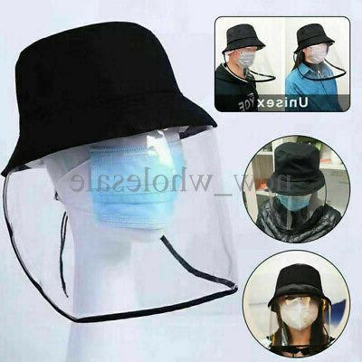 Bucket Cap Protective Cap Face Shield Dustproof