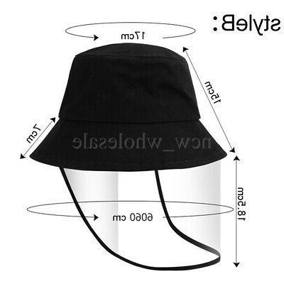 2 Pack Bucket Cap Protective Cap Face Dustproof