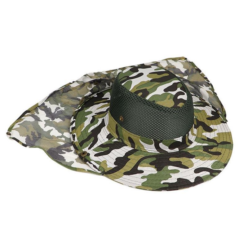 WZCX 2019 Anti-UV Outdoor Camouflage Fishing <font><b>Hat</b></font> Unisex Quick-Dry Fisherman'S Basin Cap