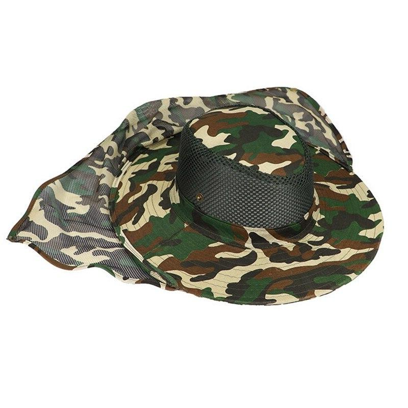 Anti-UV Outdoor <font><b>Hat</b></font> Quick-Dry Polyester Fisherman'S