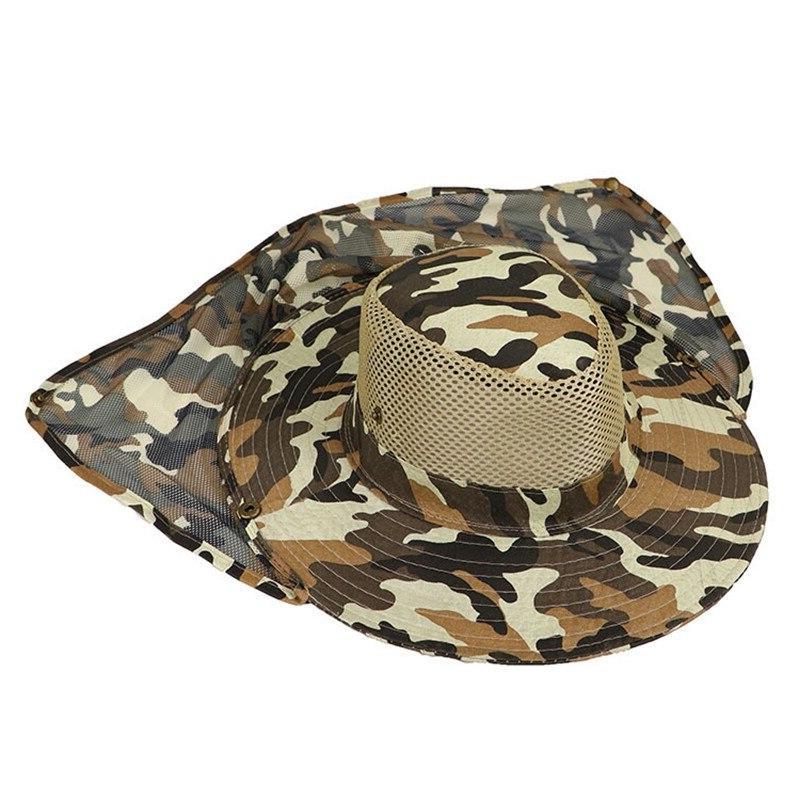 WZCX New Anti-UV Outdoor <font><b>Hat</b></font> Fisherman'S
