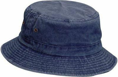 544696 kids twill bucket hat asst pack