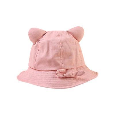 6 Baby Boys Girls Bucket Hats Reversible Headwear