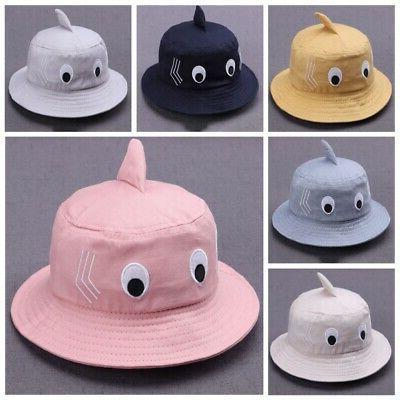 Baby Cartoon Bucket Caps Headwear Hat US