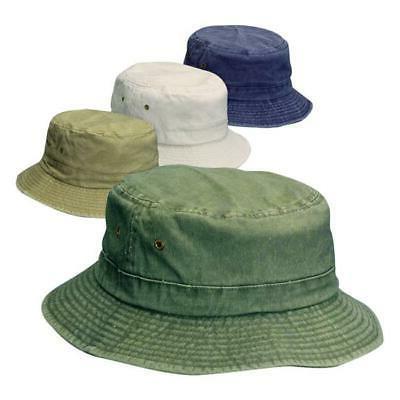 7599350 assorted colors bucket hat kids cotton