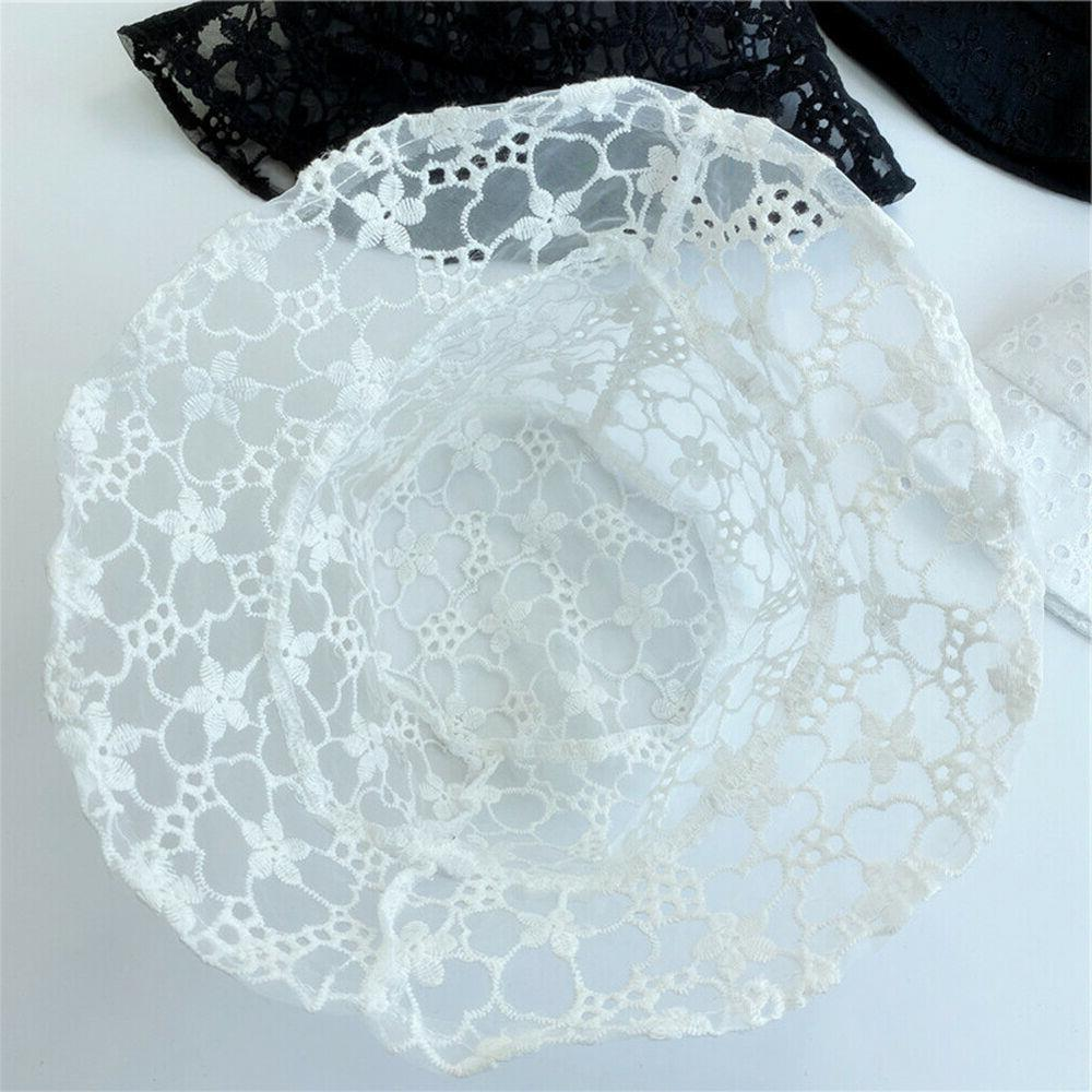 DI- Clover Print Hollow Lace Breathable
