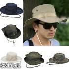 Adjustable Unisex Fisherman Bucket Hat Camouflage Jungle Hik