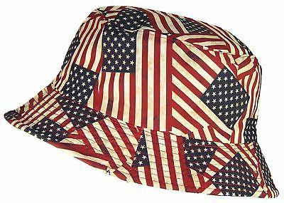 Tropic Hats Americana/American Flag Lightweight New