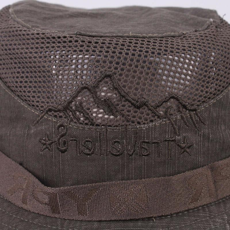 XdanqinX Summer Retro 100% Cotton Hats