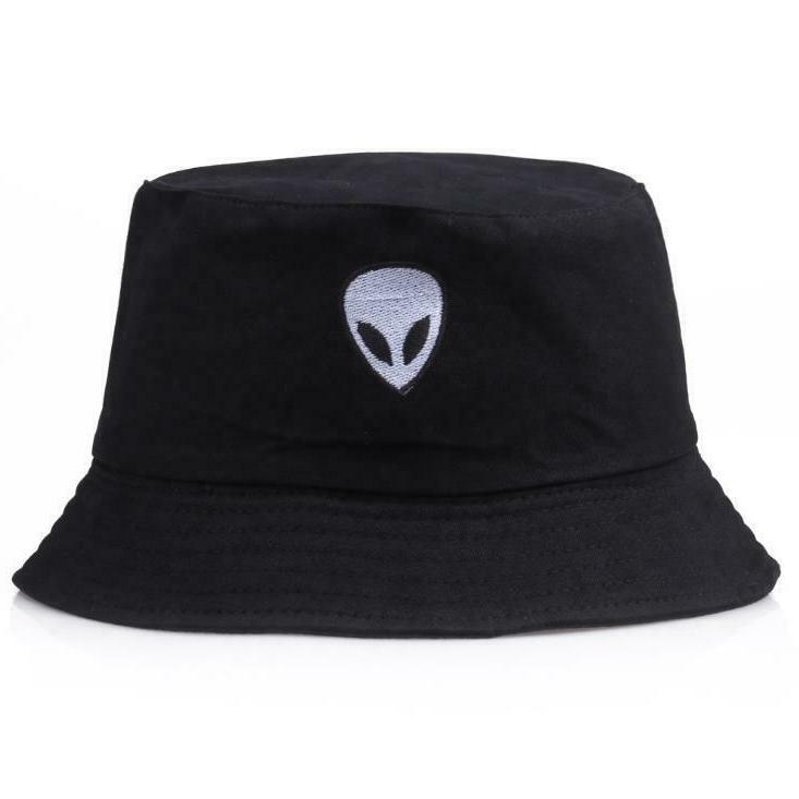 Alien Bucket Hat Cotton visor Safari Camping