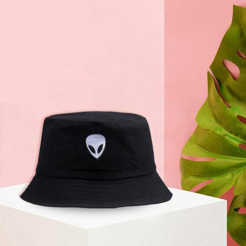 alien bucket hat unisex bob caps hip
