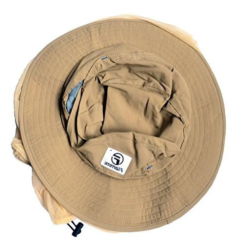 Flammi Outdoor Hat Mesh Protection