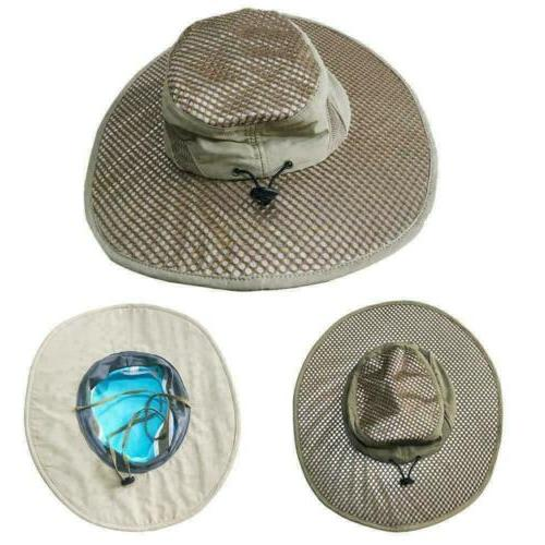 Arctic Hat Bucket with UV Protection Cooling Protected US
