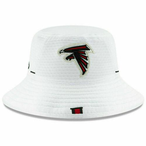 atlanta falcons bucket hat white 2019 on