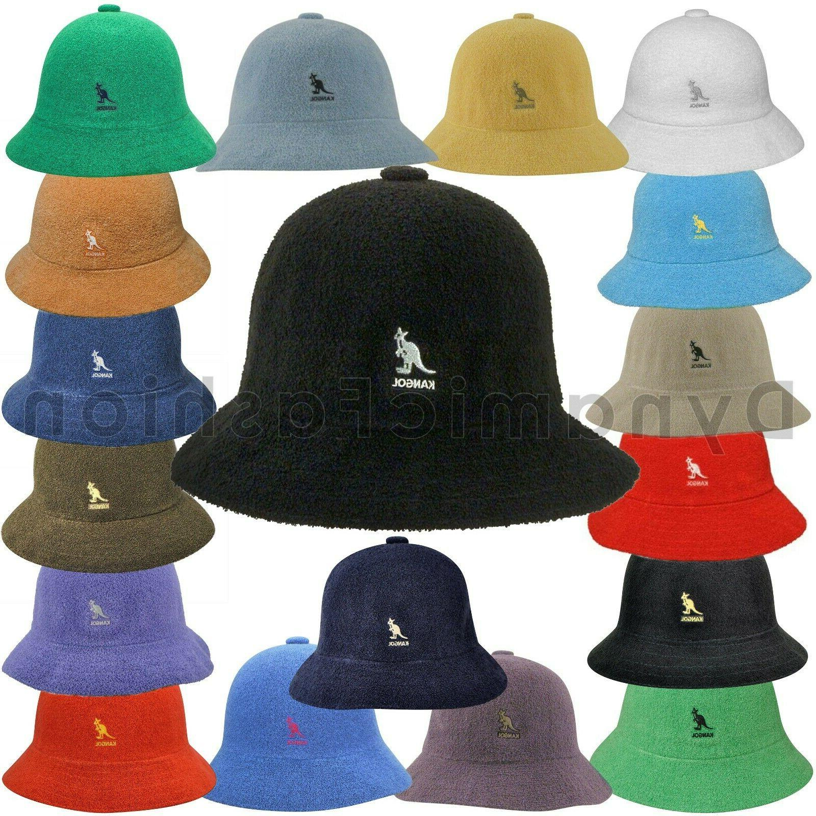 c7336fa9e6e90 Authentic KANGOL Bermuda Casual Bucket Cap Hat 0397BC Sizes