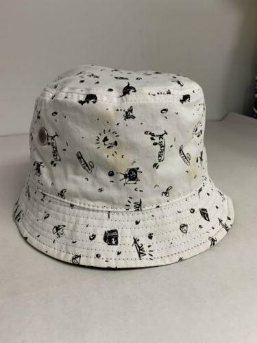 Authentic Reversible Bucket Hat Beach Size Large