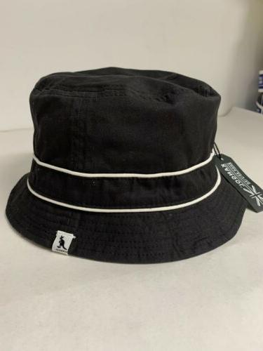 Authentic Kangol Black White Reversible Hat Size