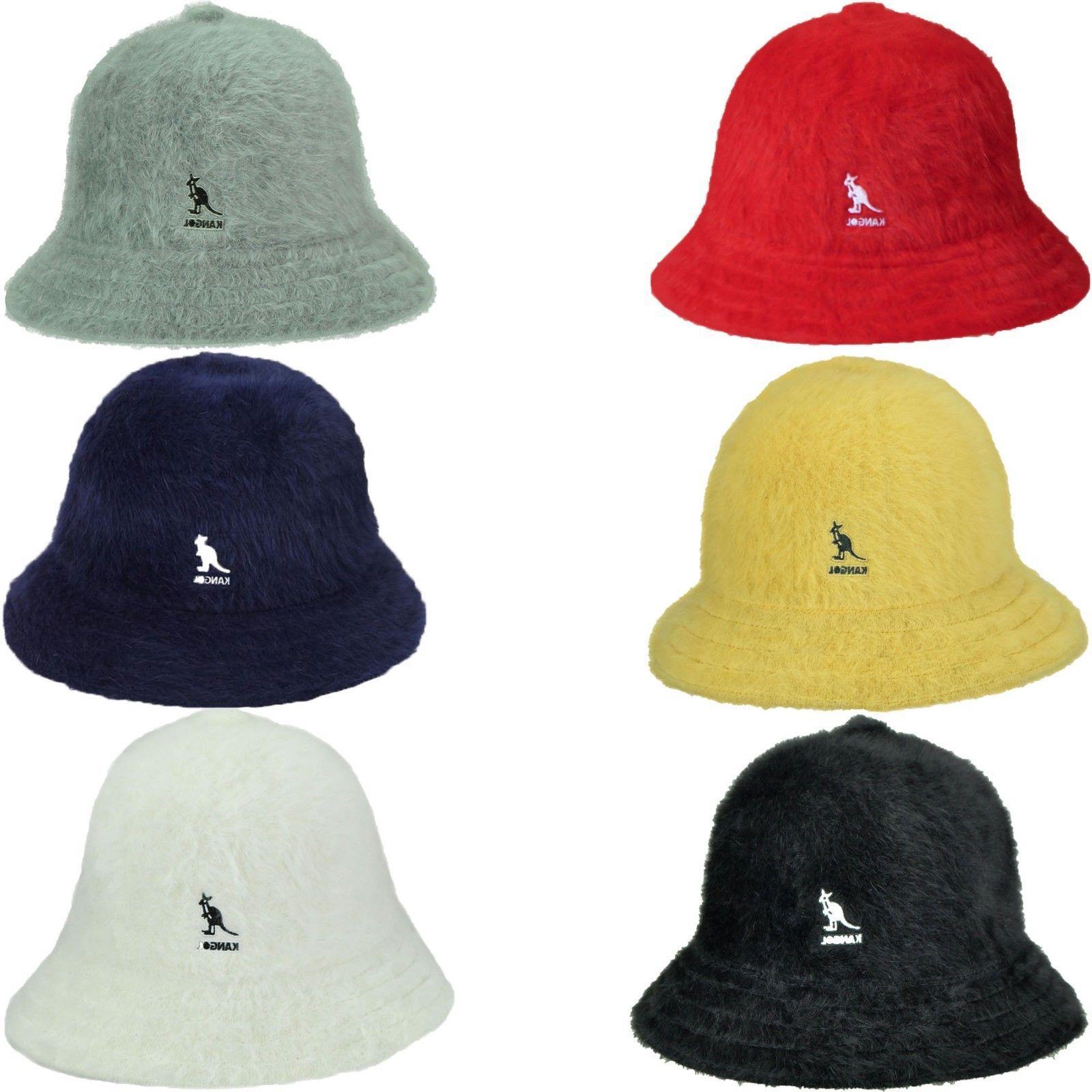 authentic furgora fur casual bucket hat cap
