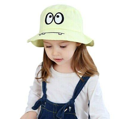 Autumn Baby Toddler Bucket Caps UV Protection Sun Hats