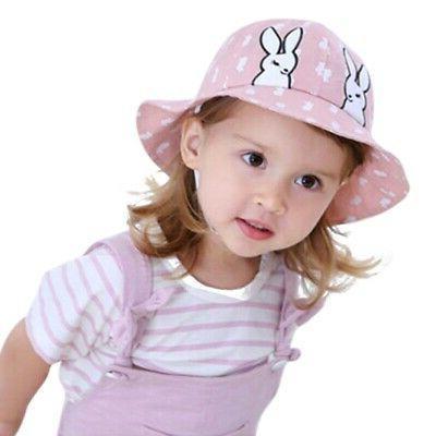 Autumn Boys Girls Toddler Bucket Hats Caps Sun Hats