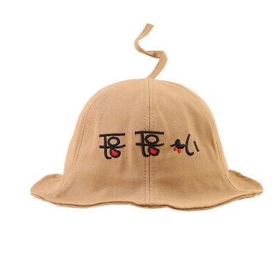 Autumn Boys Toddler Print Bucket Hats Casual Caps Headwear