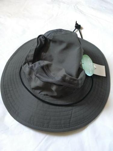 B97 Men's Bioworld Meshtop Bucket Hats Gray M/L NWT
