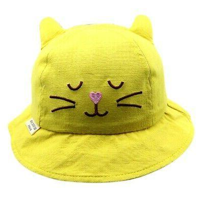 Baby Boys Toddler Cartoon Caps Sun Hat Protection