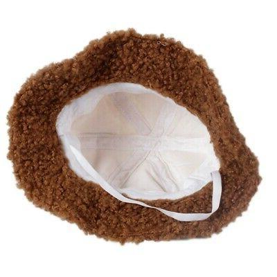 Baby Boys Winter Toddler Bucket With Ball Design Headwear