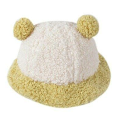 Baby Boys Autumn Winter Bucket With Ball Design Headwear
