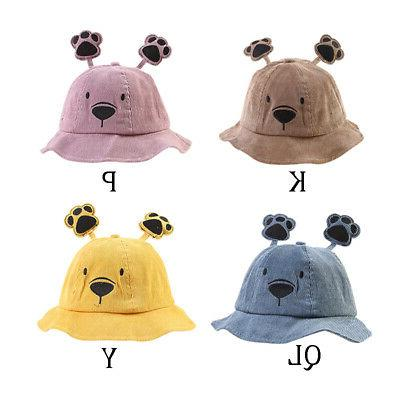 Baby Girl Cartoon Bucket Ear Caps Headwear