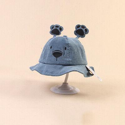 Baby Boys Girl Toddler Cartoon Bucket Ear Caps Headwear