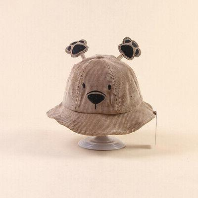 Baby Boys Cartoon Bucket Ear Headwear