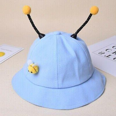 Baby Boys Cartoon Cute Reversible Headwear