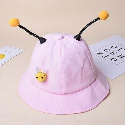 Baby Bucket Caps Kids Cute Reversible Sun Hat Headwear