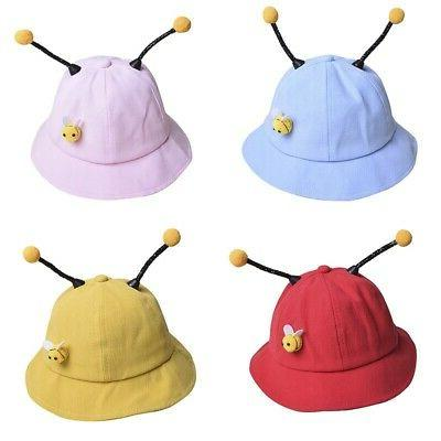 Baby Girls Cartoon Bucket Cute Reversible Sun Hat Headwear