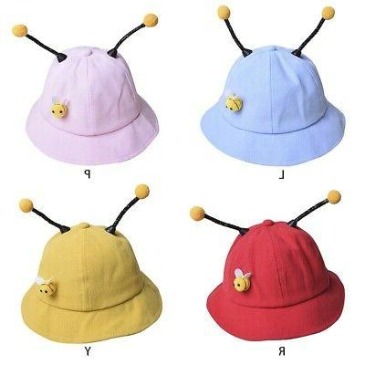 Baby Boys Cartoon Bucket Cute Reversible Hat Headwear