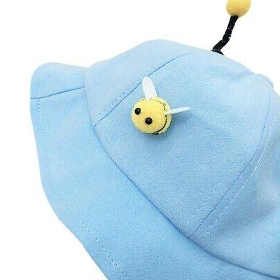 Baby Boys Cartoon Bucket Caps Cute Headwear