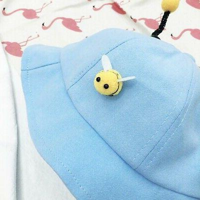 Baby Bucket Hats Cute Reversible Sun Headwear