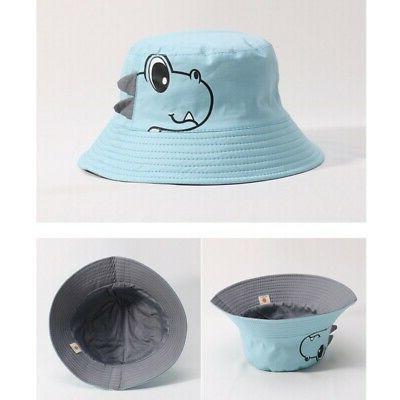 Baby Girls Toddler Cartoon Print Bucket Hats Headwear
