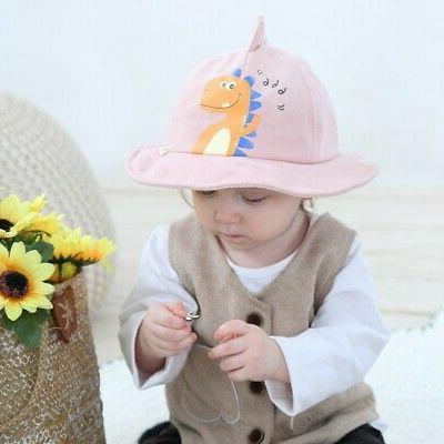 Baby Sun Hat Summer Print Bucket Kids Newborn
