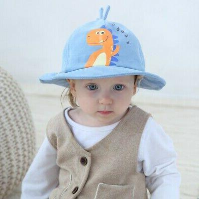 Baby Girls Hat Summer Beach Print Bucket Cap Toddler Kids