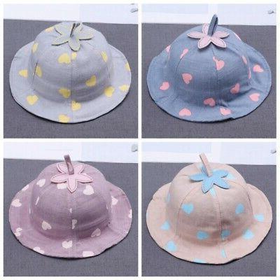 Baby Boys Toddler Bucket Hats Reversible Sun Headwear Cap