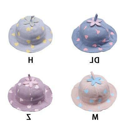 Baby Boys Bucket Hats Sun Headwear Travel Cap