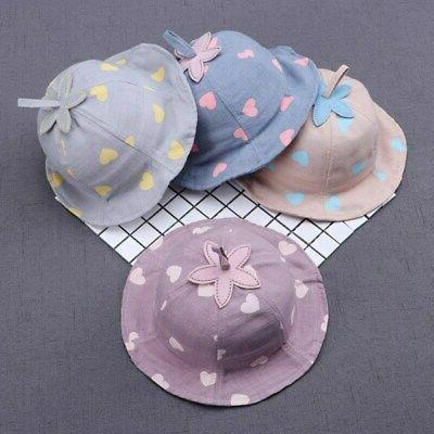 baby boys girls toddler bucket hats caps