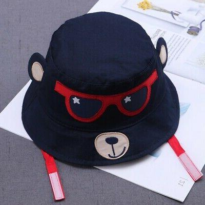 Spring Boys Toddler Cartoon Printed Bucket Hats Caps