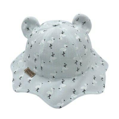 Baby Boys Girls Hats Hats Ear Sun Caps