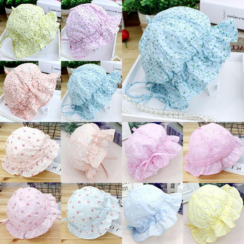Baby Sun Hat Bucket Hats Lace Bonnet