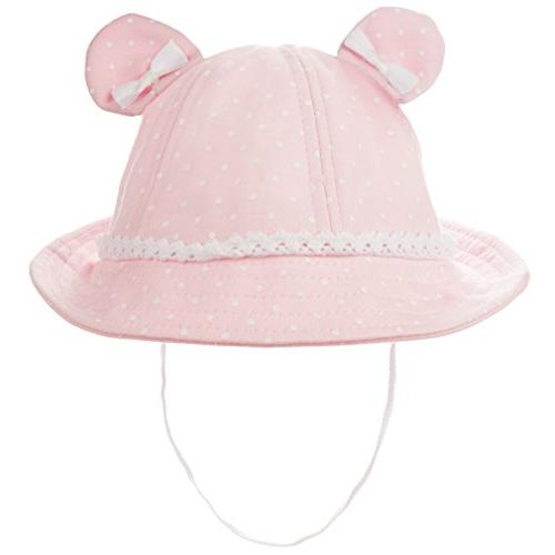 baby girls toddler bear bucket hat sun