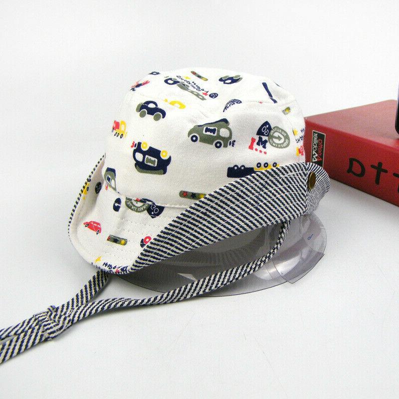 Baby Hat Boy/Girl Kids Play Sun Bucket/Reversible Brim Sun